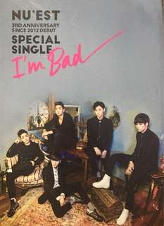 Nu'est I'm Bad -3rd anniversary special single