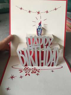 [POP UP] Happy Birthday Card - Gift Idea