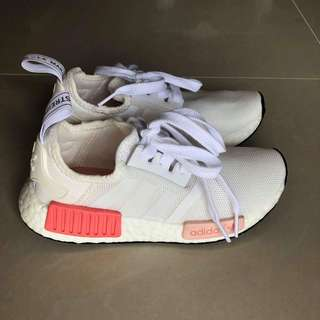 Authentic Adidas NMD (pink and white)