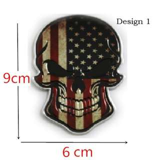 Cool Metal Badge sticker (Suitable for MotorCycle/Bicycle/Car) $9.90
