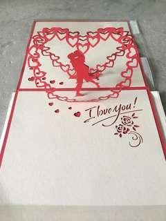 [POP UP] 'I LOVE YOU' Card ❤️