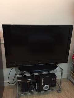TV + Speaker + Shelf