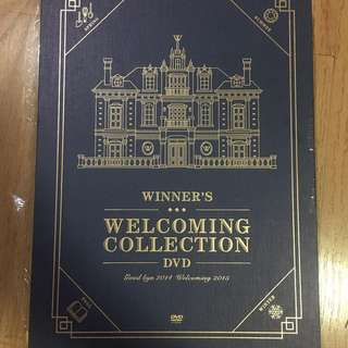WINNER 2015 Welcoming Collection DVD with postcard/calendar pic/photobook
