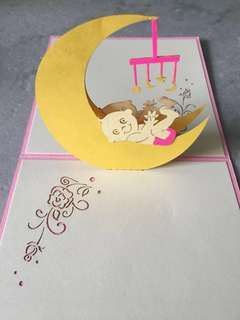 [POP UP] Baby Girl/Boy Card - Gift Idea