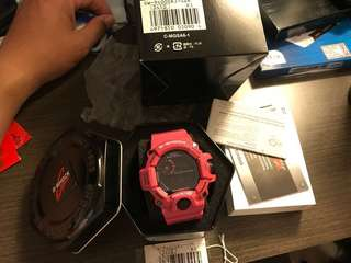 Casio G-Shock Rangeman GW-9400SRJ 桃貓