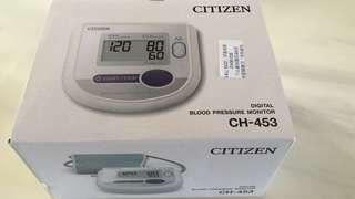 Citizen 電子血壓計 Blood Pressure Monitor