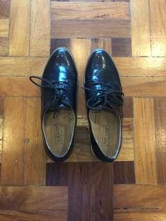 TopShop Black Loafers
