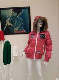BULU ANGSA👍Coat Winter Pink