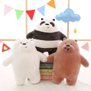 25cm We bare bear stuffed toy Plushie Soft toy soft down cotton