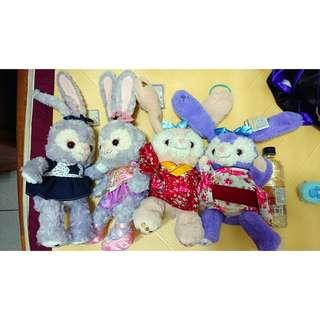變裝史黛拉兔 娃娃 星星牛仔裙、珠寶寶石裙、日本和服裝 可拆賣