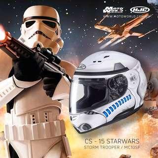 HJC Starwars Storm Trooper CS-15
