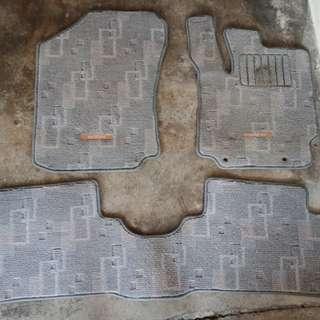 Carpet kaki 3pcs daihatsu boon untuk myvi