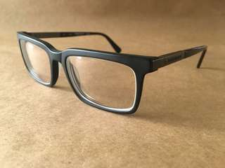 Matte Black Eyeglasses by Kenneth Cole