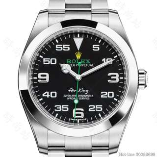 ROLEX 116900 _ BLACK AIR-KING OYSTER 40MM STEEL