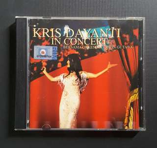 CD Kris Dayanti In Concert 2001