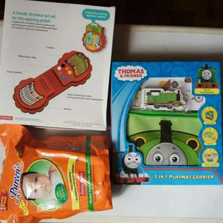 Fisher Price and Thomas and friends Toy, Pureen  baby wash