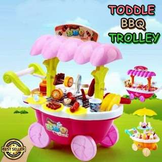 TOODLE BBQ TROLLEY