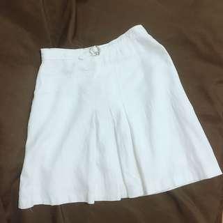 🚚 氣質白色顯瘦超涼麻裙👍🏻