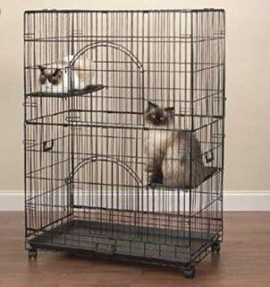 Unused Cat Cage