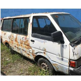 Nissan Vanette C22 C20 Spare Parts Full Car