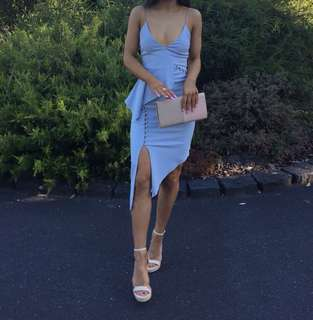 Bec and bridge baby blue dress