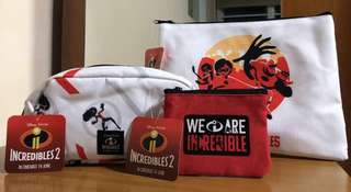 The Incredibles 2 Pouch/ Pencil Case