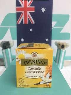 🚚 🇬🇧英國Twinings 唐寧 香草甘菊蜜茶  10包