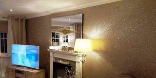 GLITTER SELF ADHESIVE WALLPAPER