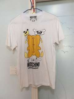 Moschino tee only tried at home