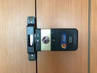double security for sliding door or main door digital lock