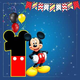 🚚 Mickey Mouse banner