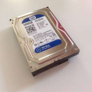 WD Blue 500GB Desktop Hard Disk Drive for Desktop