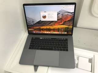 "99%New MacBook Pro 15"" 256GB 16GB 2.6GHz i7(Touch Bar&ID)Grey"