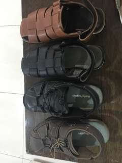 Hush puppies leather Sandals