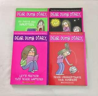 Scholastic Books - Dear Dumb Diary
