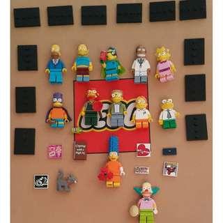 Lego = Simpsons minifigure lot