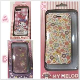 正版180減至60-Sanrio Melody & Little Twin Stars iPhone6/7/8雙層手機殼