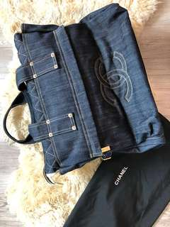 Vintage Chanel Denim Bag