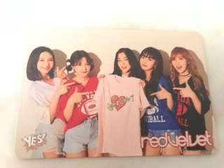 Red Velvet yescard