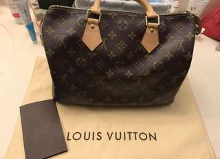 (AUTHENTIC)LV Speedy 30