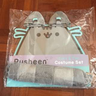 Pusheen Ears and Tail Costume set