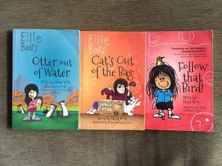 Ellie Belly books total $5