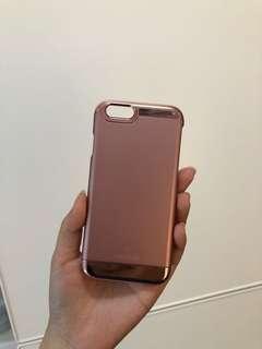 Caseology iPhone 6/6s Case Metallic Pink