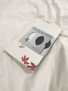 Hear The Wind Sing by Haruki Murakami (with free shipping)