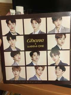 Ghana x Wanna 朱古力 吉盒