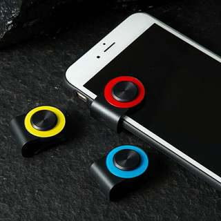 Game Joystick For Mobile Phone Rocker Joypad Tablet Controller With Clip Random Color