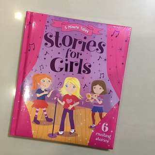 BNIB 5 minute Tales Stories for girls