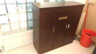 全新出清降價再降再降價一折時尚超大實木芯板鞋櫃
