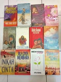 Novel Melayu RM10 , kecuali AHADIAT AKASHAH RM25