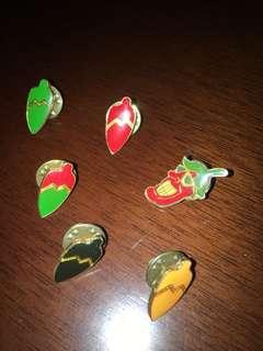 Brooch/pin small (35 each)
